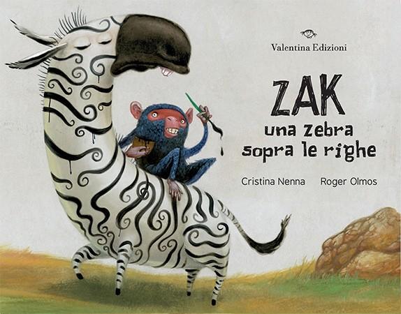 Zak. Una zebra sopra le righe