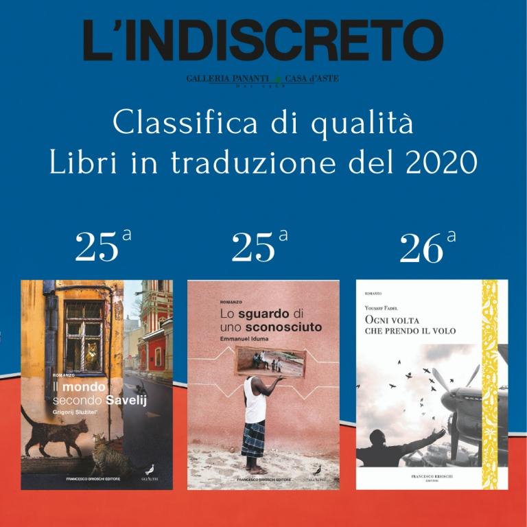 Classifica di qualità. Libri in traduzione del 2020