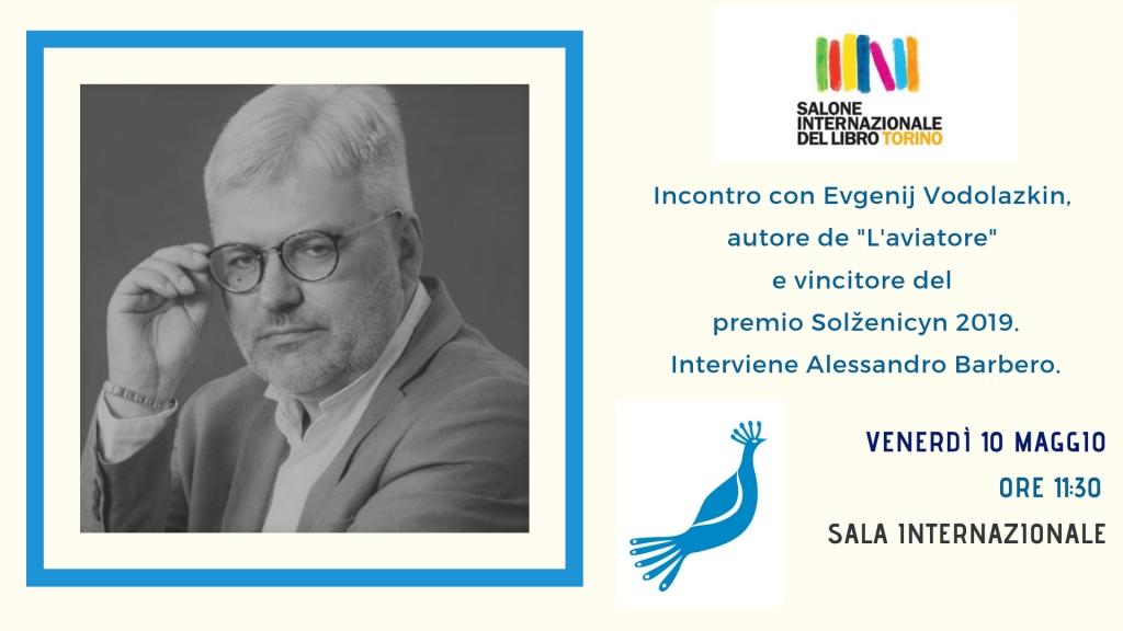 Incontro con Evgenij Vodolazkin - Salone del libro di Torino
