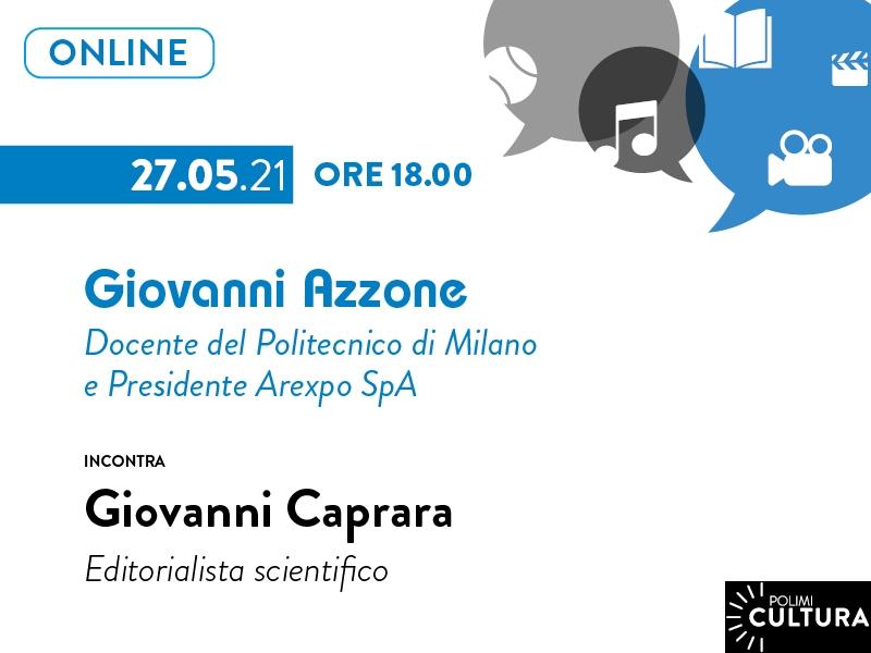 Incontro con l'autore Giovanni Azzone.