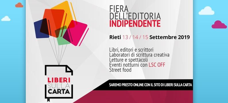 Liberi sulla carta - Fiera dell'editoria indipendente