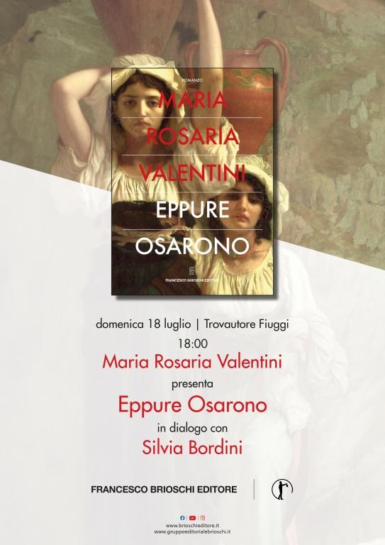 Maria Rosaria Valentini presenta