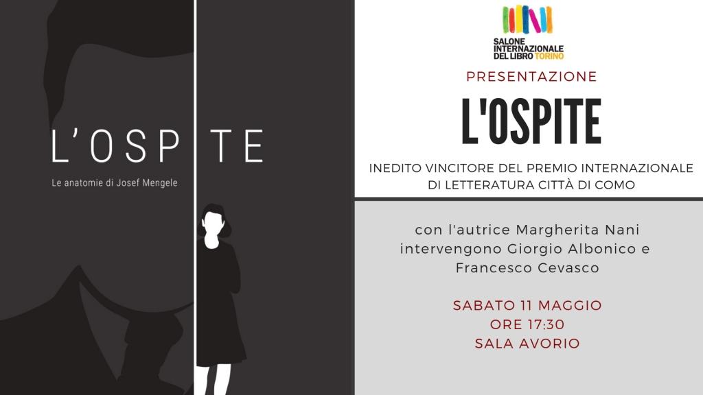 Presentazione L'Ospite - Salone del libro di Torino