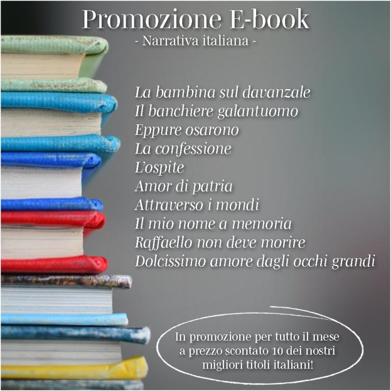 Promozione E-book - Narrativa italiana -